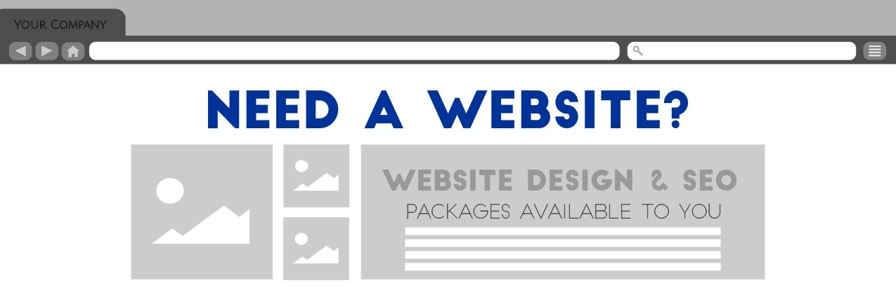 Website Design and SEO Banner